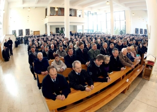 Dzień Skupienia Nadzwyczajnych Szafarzy Komunii Świętej (23.11.2014)